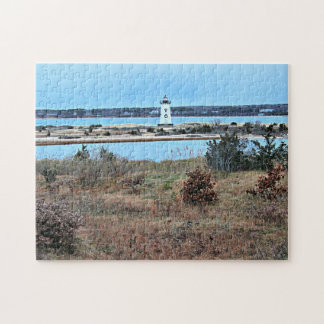 Edgartown Harbor Lighthouse, Martha's Vineyard MA Puzzle
