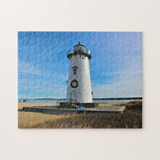 Edgartown Harbour Lighthouse, Martha's Vineyard MA Jigsaw Puzzle