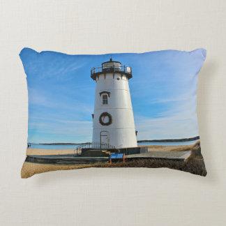 Edgartown Lighthouse, Marthas Vineyard MA Accent Pillow