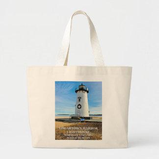 Edgartown Lighthouse,Martha's Vineyard MA Tote Bag