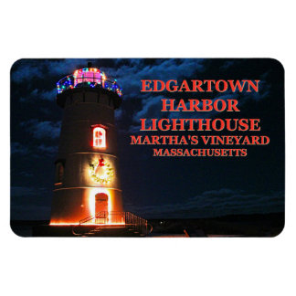 Edgartown Lighthouse, Massachusetts Flexi Magnet