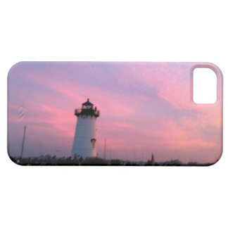Edgartown Lighthouse Sunset July Fourth Cell Cover