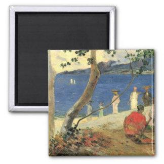 Edge of Sea - Paul Gauguin Magnet
