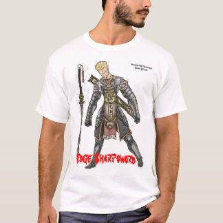 Edge Sharpsword in Demon Armor T-Shirt