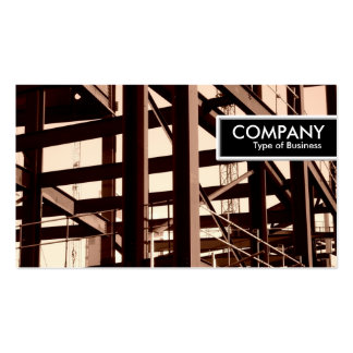 Edge Tag - Steel Frame Construction Business Card Templates
