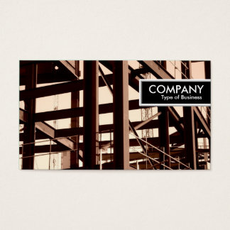Edge Tag - Steel Frame Construction Business Card
