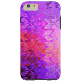 Edged momentum (magenta) tough iPhone 6 plus case