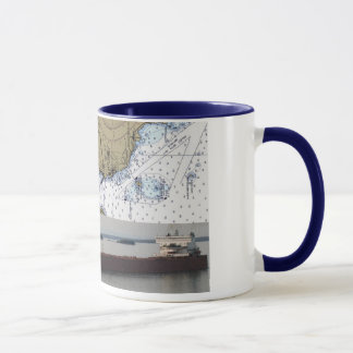Edger B. Speer Passing Detour Village Chart Mug