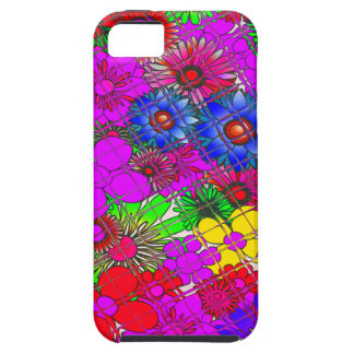 Edgy Beautiful colorful amazing floral pattern des iPhone 5 Case