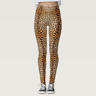Edgy Cheetah Leggins Leggings