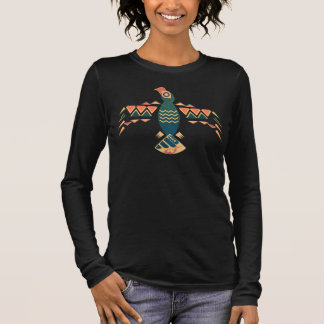 Edgy Eagle Spirit Women's Long Sleeve T-Shirt