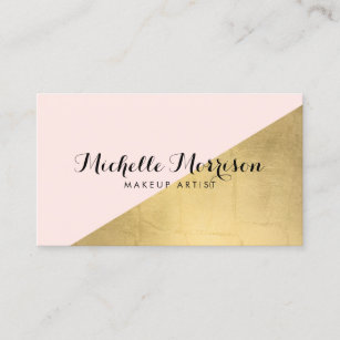 Edgy business cards profile cards zazzle ca edgy geometric faux gold foil and pink colour business card colourmoves