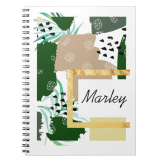 Edgy Personalized Notebook