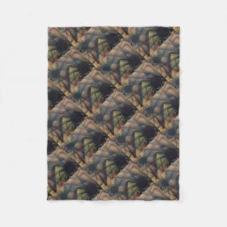 Edgy Spiders Fleece Blanket