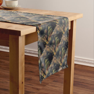 Edgy Spiders Short Table Runner
