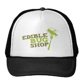 Edible Bug Shop logo Cap