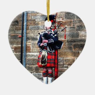 Edimburgh Ceramic Heart Ornament
