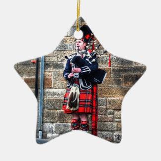 Edimburgh Ceramic Star Ornament