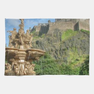 Edinburgh Castle 9082 Hand Towels