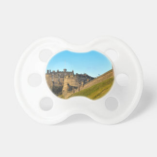 Edinburgh Castle Baby Pacifier