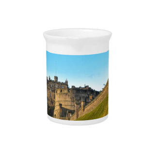 Edinburgh Castle Beverage Pitcher