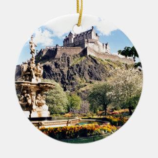Edinburgh Castle Ceramic Ornament