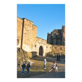 Edinburgh Castle Custom Stationery