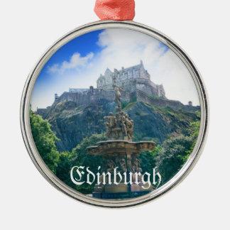 Edinburgh Castle Customize Product Metal Ornament