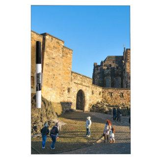 Edinburgh Castle Dry-Erase Whiteboards