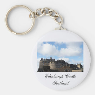 Edinburgh Castle in Scotland Keychain