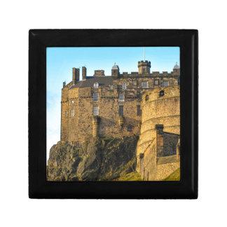 Edinburgh Castle Jewelry Box