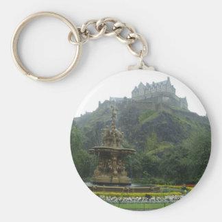 edinburgh castle keychain