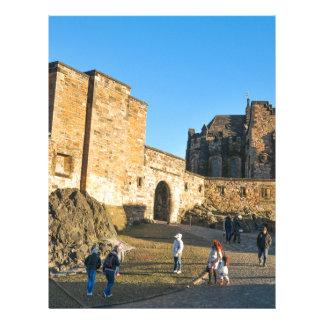 Edinburgh Castle Letterhead Design