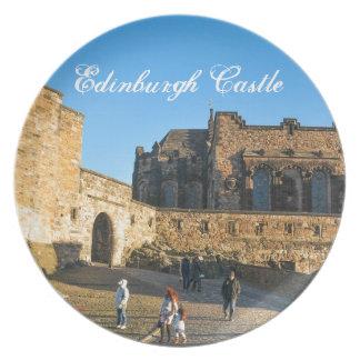 Edinburgh Castle Party Plate