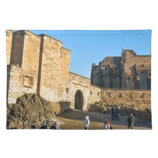 Edinburgh Castle Place Mats