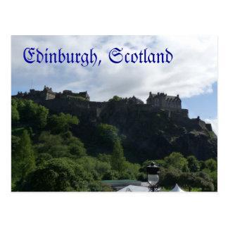 Edinburgh Castle postcard 1