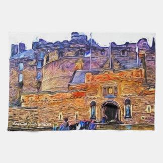Edinburgh Castle, Scotland Kitchen Towel