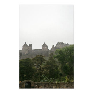 Edinburgh Castle Stationery Design