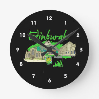 edinburgh city green travel vacation image.png wallclocks
