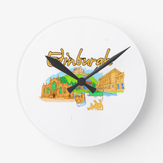 edinburgh city orange travel vacation image.png clock