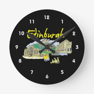 edinburgh city travel vacation image.png wallclocks