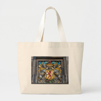 Edinburgh coat of arms, Scotland Large Tote Bag