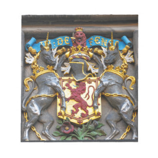 Edinburgh coat of arms, Scotland Notepad