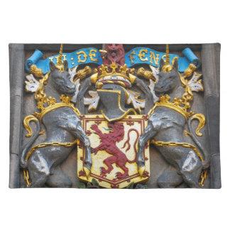 Edinburgh coat of arms, Scotland Place Mat