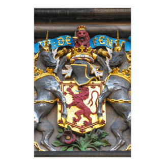 Edinburgh coat of arms, Scotland Stationery Design
