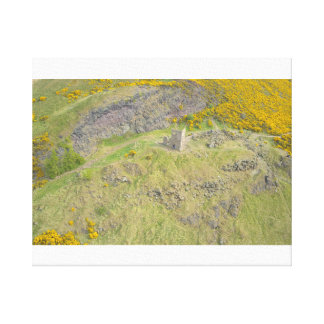 Edinburgh fort upon the hills canvas print