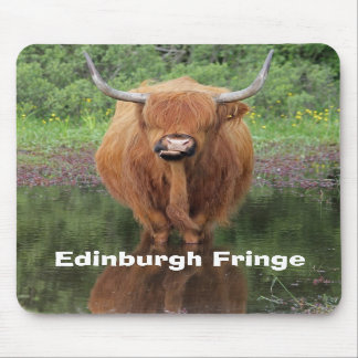 'Edinburgh Fringe' mousemat Mouse Pad