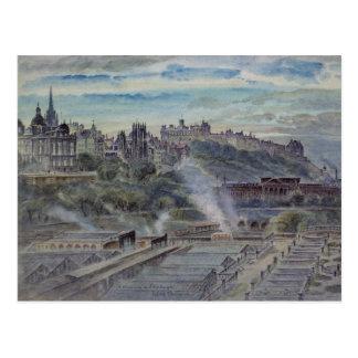 Edinburgh from near St. Anthony's Chapel Postcard