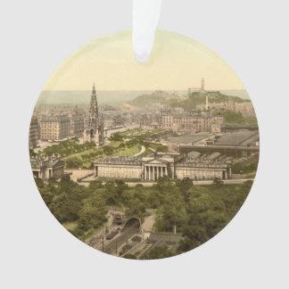 Edinburgh from the Castle, Scotland Ornament
