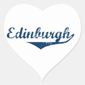 Edinburgh Heart Sticker